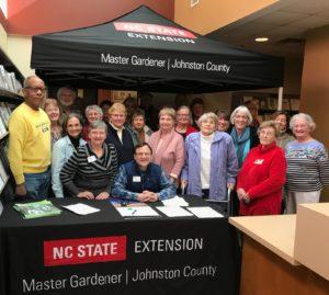 Master Gardener volunteers of Johnston County
