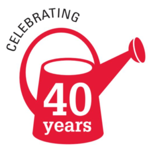 40 Year Anniversary Watering Can Icon