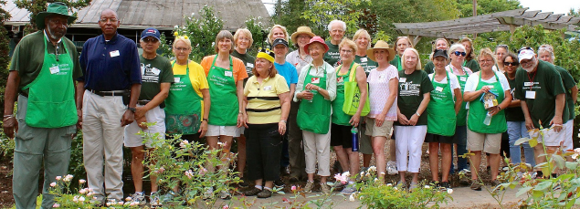 Master Gardener volunteer group photo